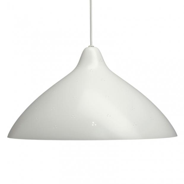Závesná lampa Lisa 450, biela