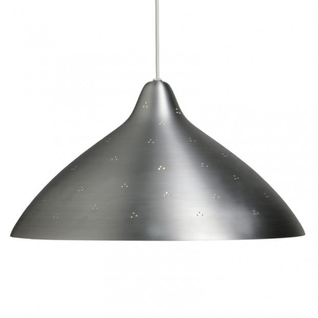 Závěsná lampa Lisa 450, stříbrná