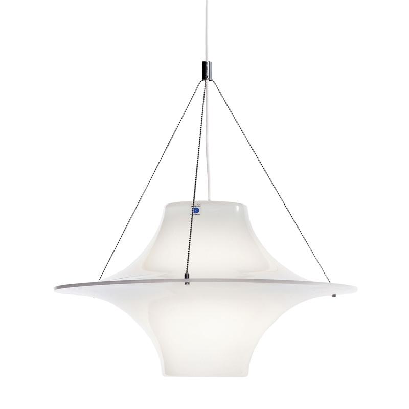 Závěsná lampa Lokki 500, bílá