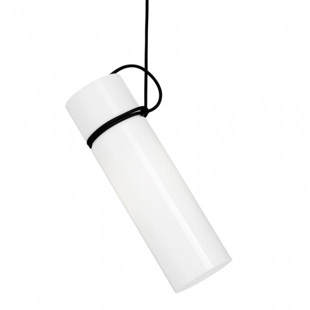 Závěsná lampa Murakka, bílá