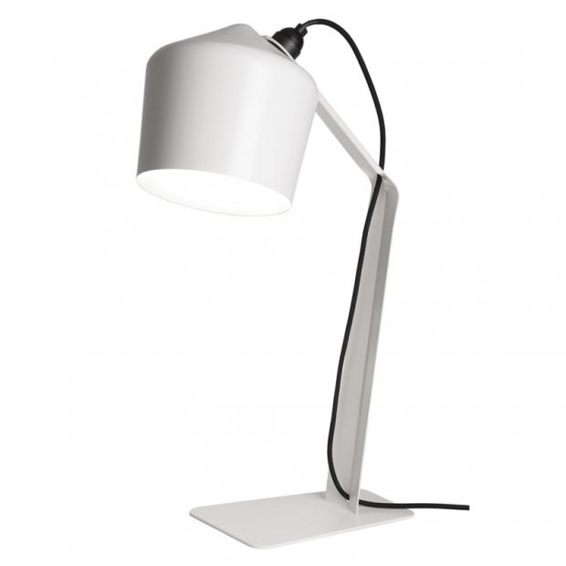 Stolní lampa Pasila, bílá