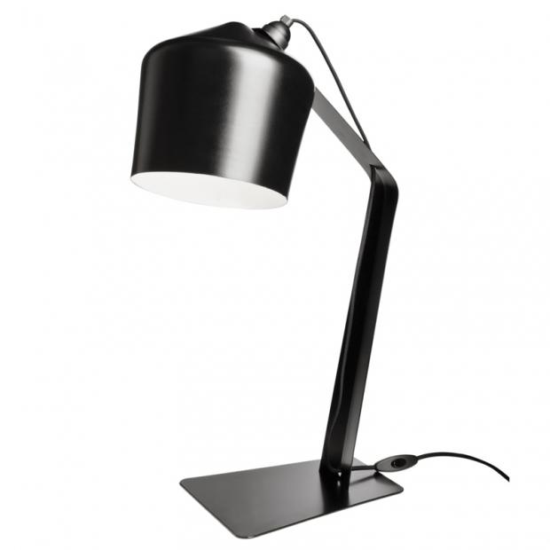 Stolná lampa Pasila, čierna