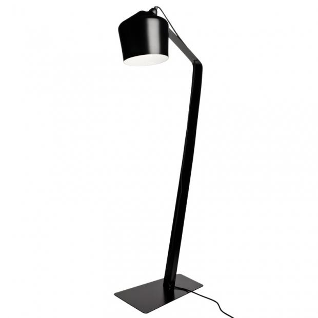 Stojacia lampa Pasila, čierna