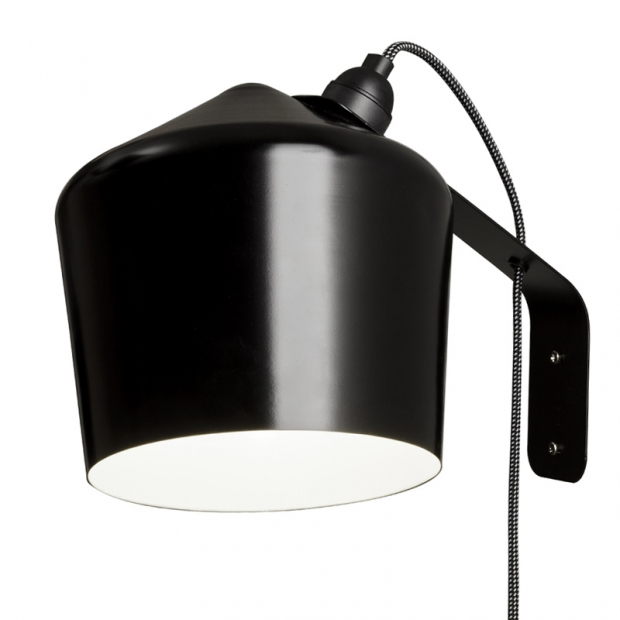 Nástěnná lampa Pasila, černá
