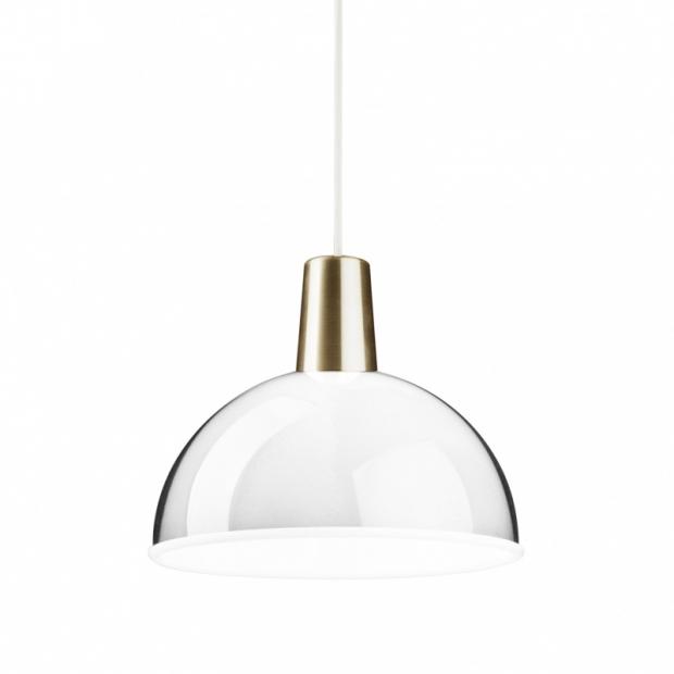 Závěsná lampa Kuplat, čirá