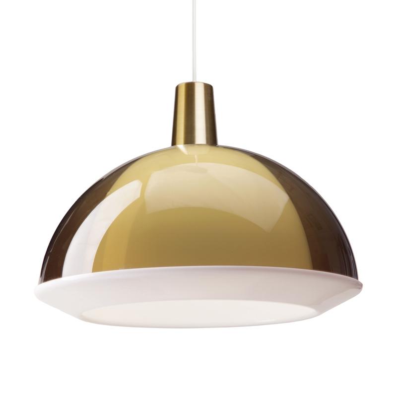 Závesná lampa Kuplat 400, piesková