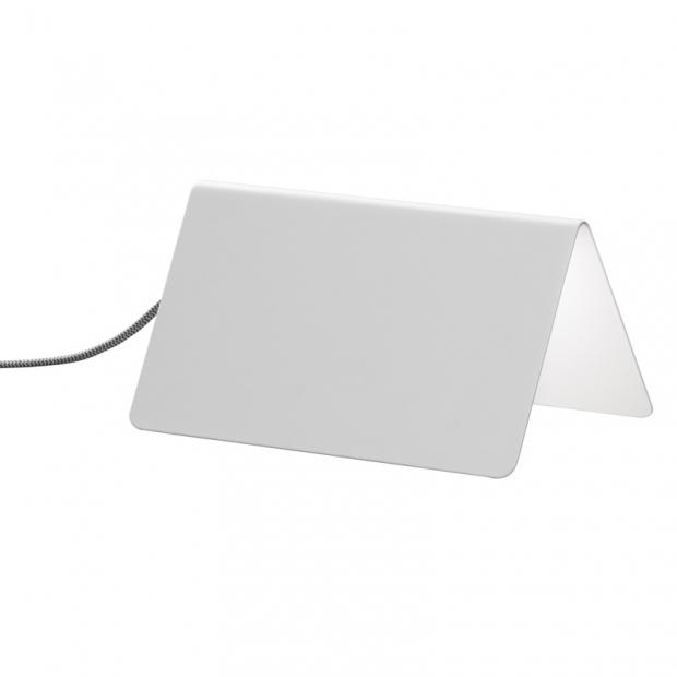 Stolní lampa Beagle, bílá
