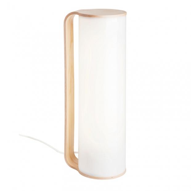 Stolní lampa Tubo, jasan