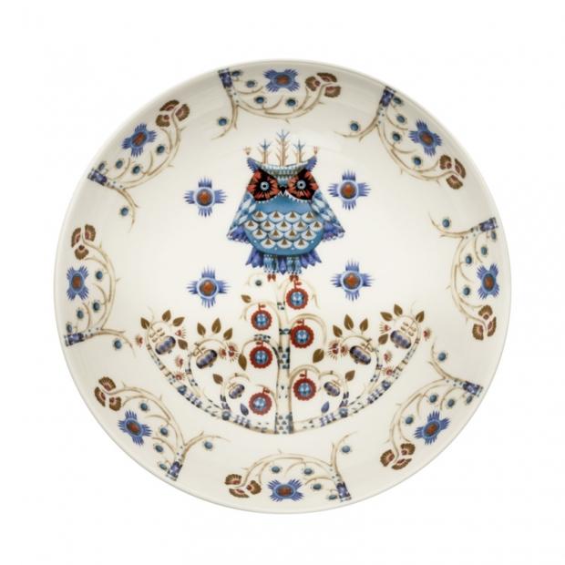 Hlboký tanier Taika deco 20cm, biely