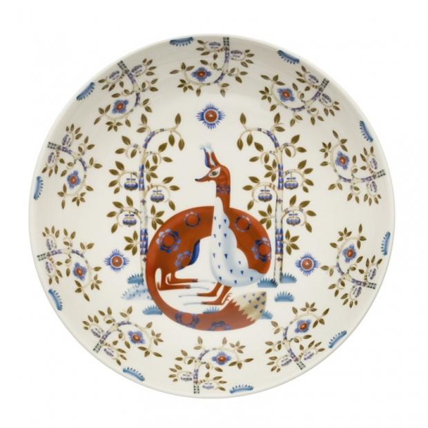Hlboký tanier Taika deco 22cm, biely