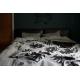 Deka Käpy 140x180, sivo-čierna