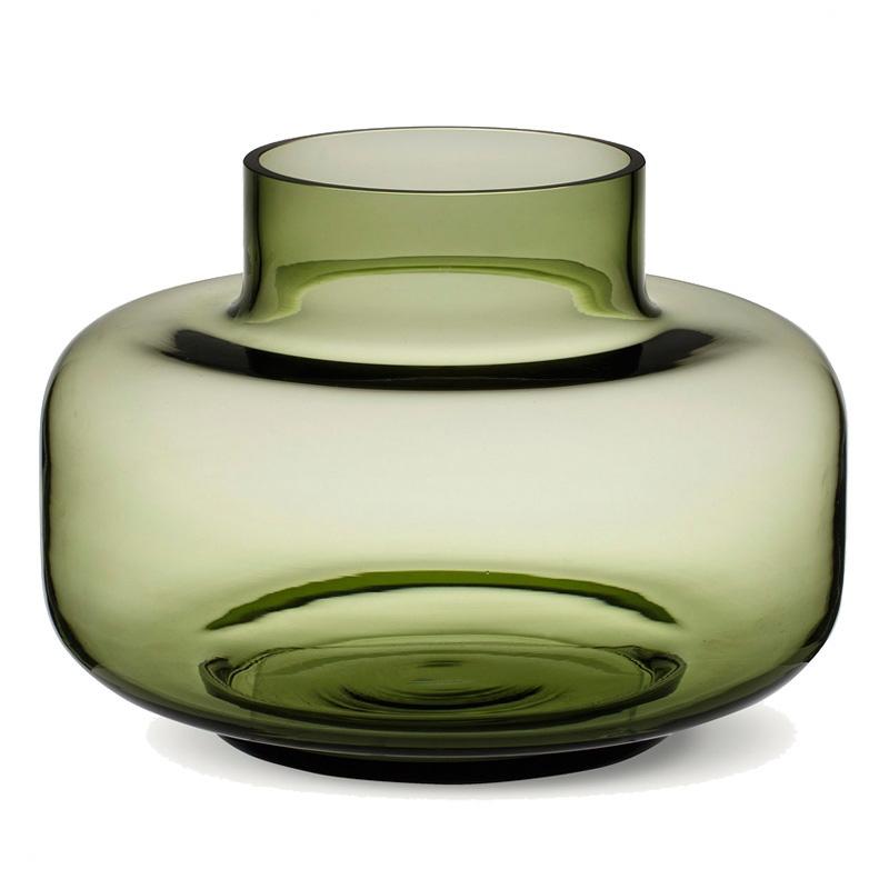 Váza Urna, zelená