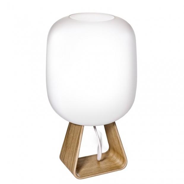Stolná lampa Toad 1UP, dub