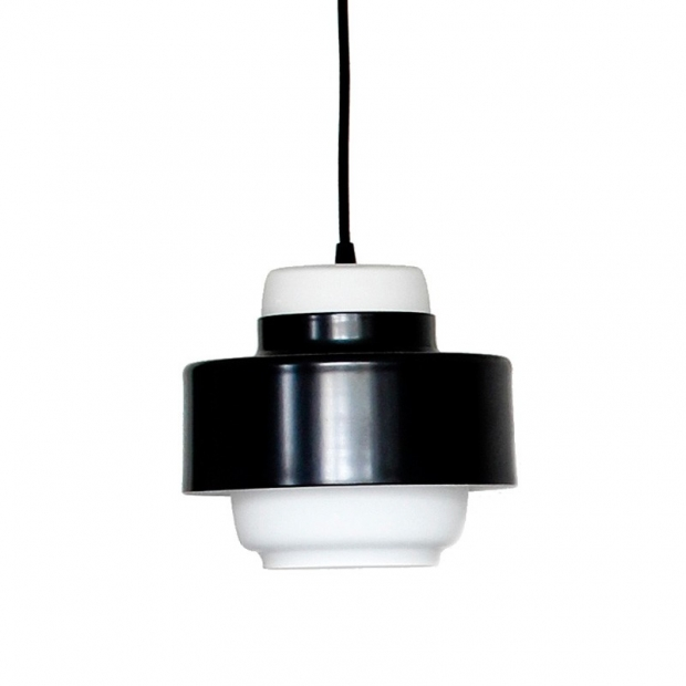 Závesná lampa Lento 1, čierna