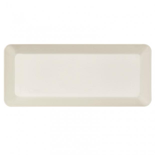 Talíř Teema 16x37cm, bílý