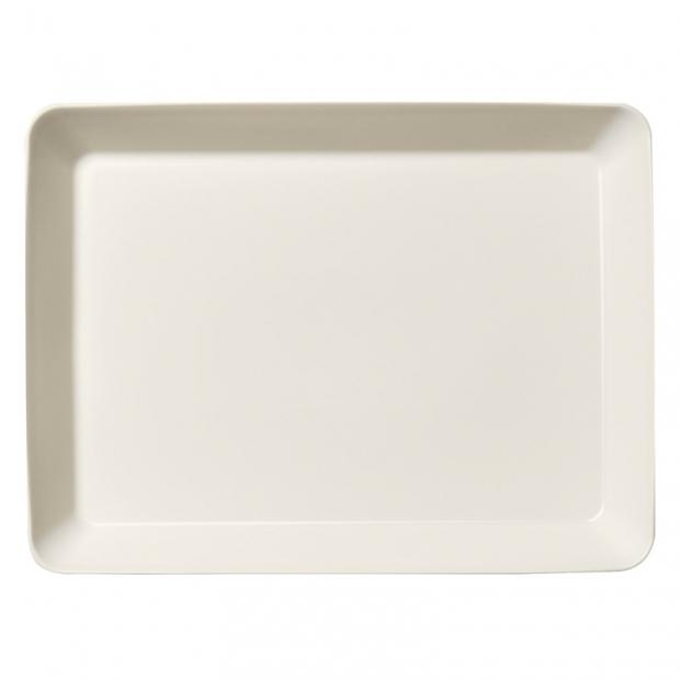 Talíř Teema 24x32cm, bílý