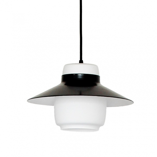 Závesná lampa Lento 2, čierna