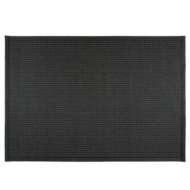 Koberec Valkea, černo-šedý