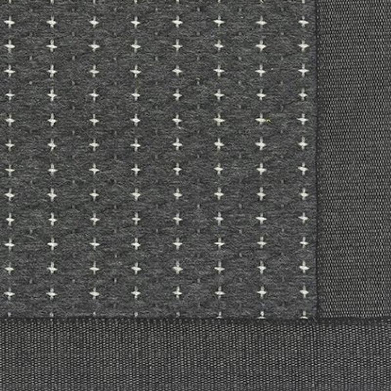 Koberec Valkea, čierno-sivý
