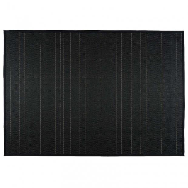 Koberec Kajo, černo-šedý