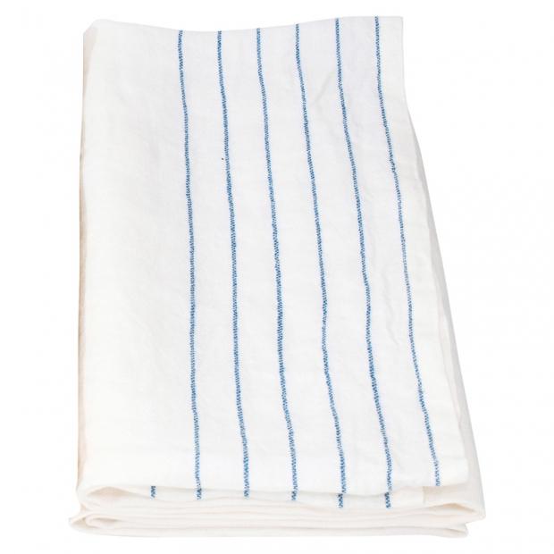 Osuška Kaste 95x180, bielo-modrá