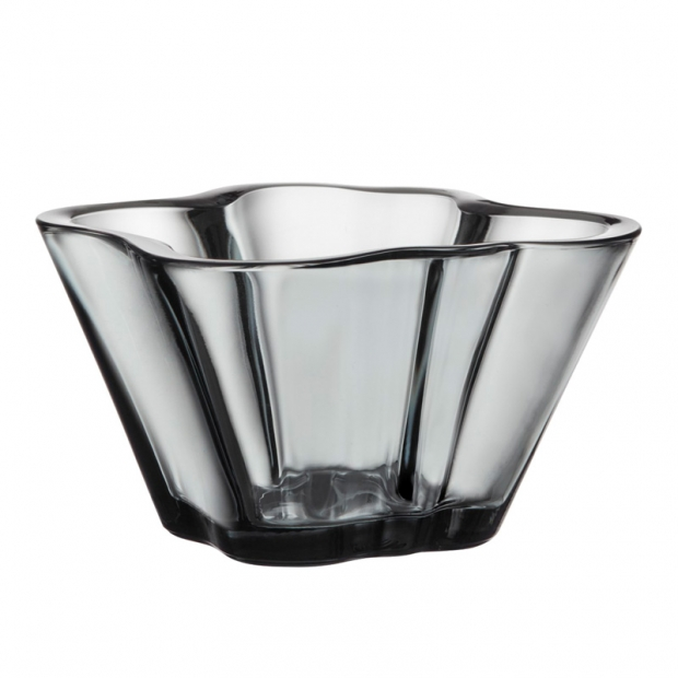 Miska Alvar Aalto 75mm, šedá