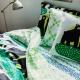 Povlečení Otso 150x210, zeleno-žluté