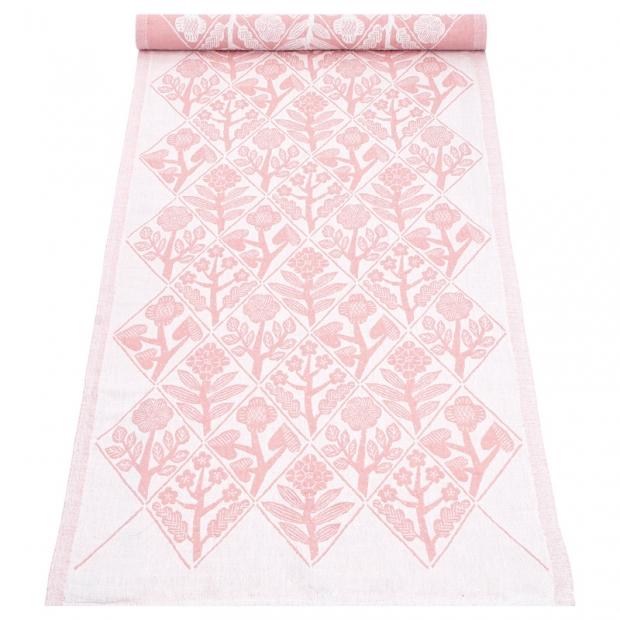 Běhoun Kukat 48x150, bílo-růžový