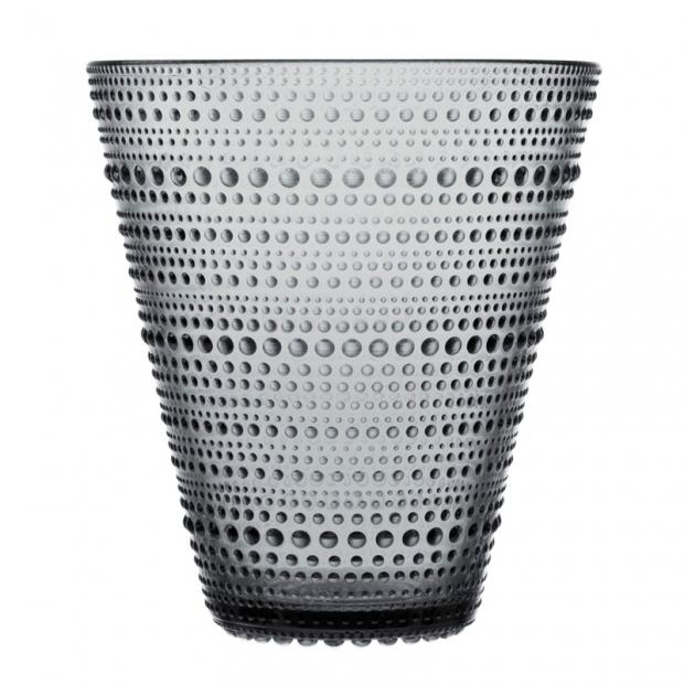Váza Kastehelmi 154mm, sivá