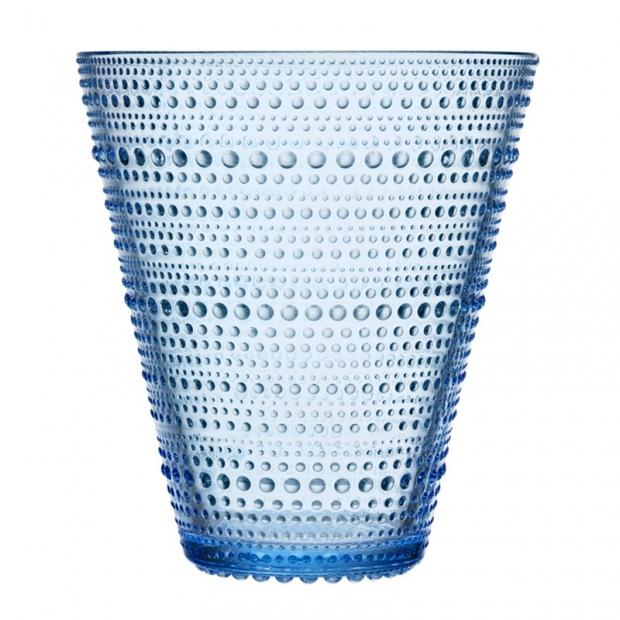 Váza Kastehelmi 154mm, modrá aqua