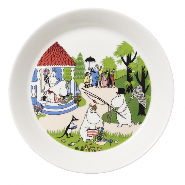 Tanier Moomin Going on Vacation 19cm