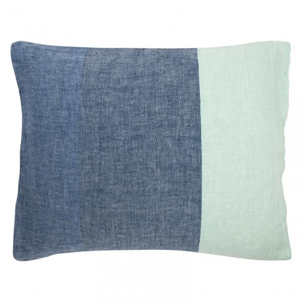 Obliečka na vankúš Tsavo 50x60, modro-mätová