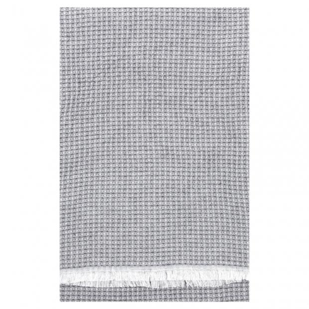 Osuška Laine 85x175, šedá