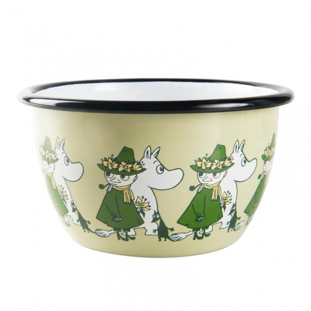 Miska Moomin Friends 0,6l, zelená